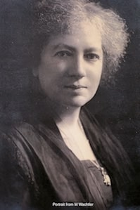 Maria Ogilvie Gordon portrait from M Wachtler